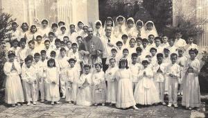 Primeira.Comunhao.Igreja.S.Lourenco.1956