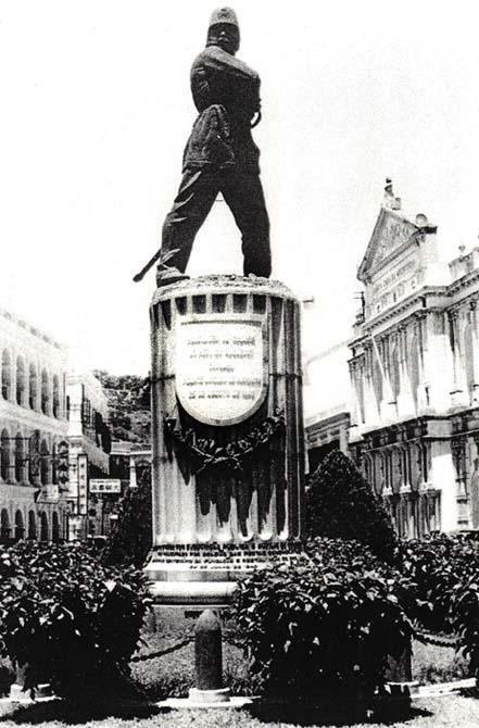 Coronel Mesquita, herói macaense