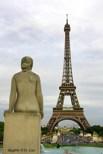 Paris, Torre Eiffel (foto: Rogério P.D. Luz)