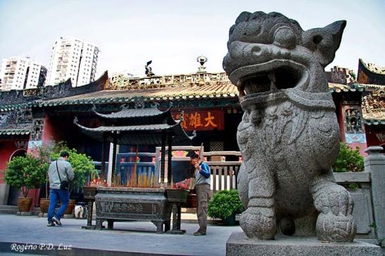 Templo chinês Kum Ian Tong