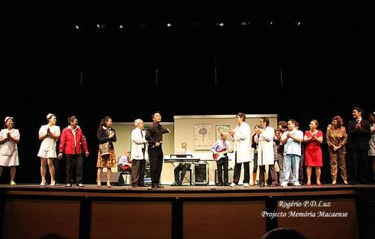 Grupo teatral Dóci Papiaçám di Macau