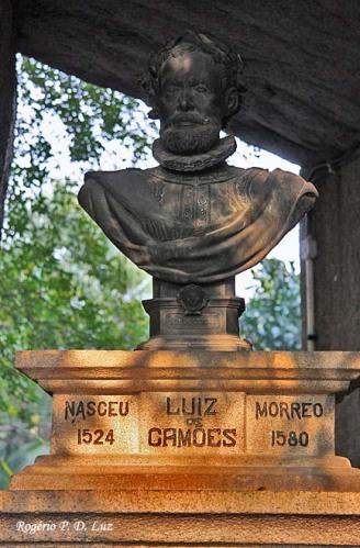 Busto de Camões em Macau
