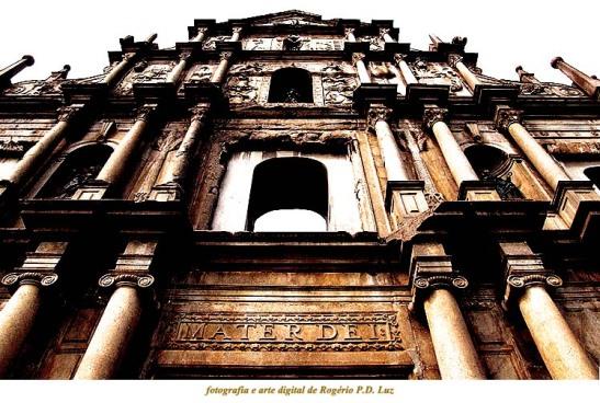 Ruínas de São Paulo faz parte do Centro Histórico de Macau classificado como Patrimônio Mundial pela UNESCO