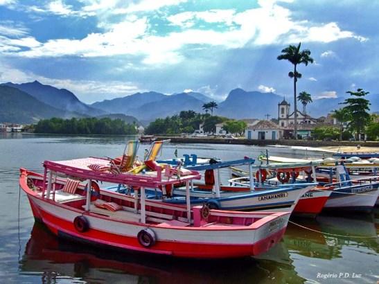 Parati, cidade histórica no litoral do Rio de Janeiro e Patriônio Histórico do Brasil