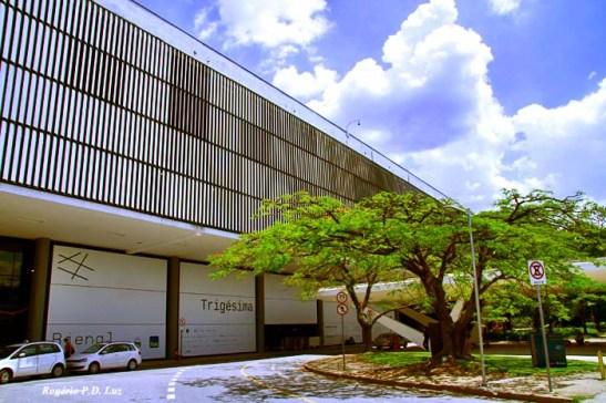 Prédio da Bienal de São Paulo, no Parque do Ibirapuera