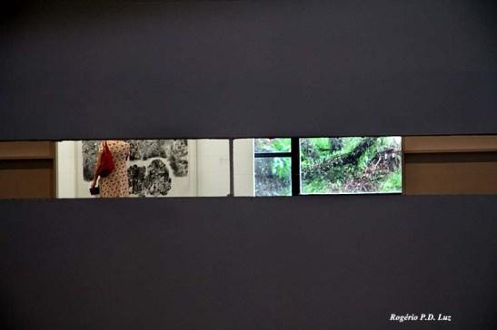 Até as frestas e aberturas da mureta permitem uma obra fotográfica que quer ser artística