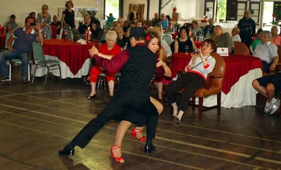 Eduarda da Silva e o seu tango do Gardel