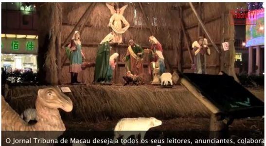 Imagem do vídeo do Jornal Tribuna de Macau