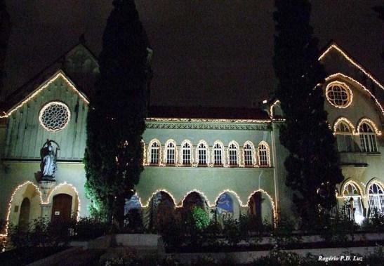 O prédio da Capela Santa Luzia