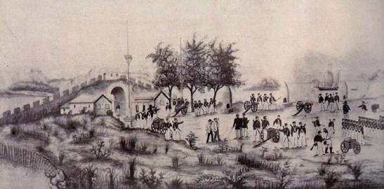 Tomada do Passaleão em 25 de Agosto de 1849