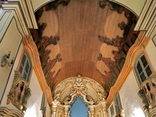 o teto do altar mor