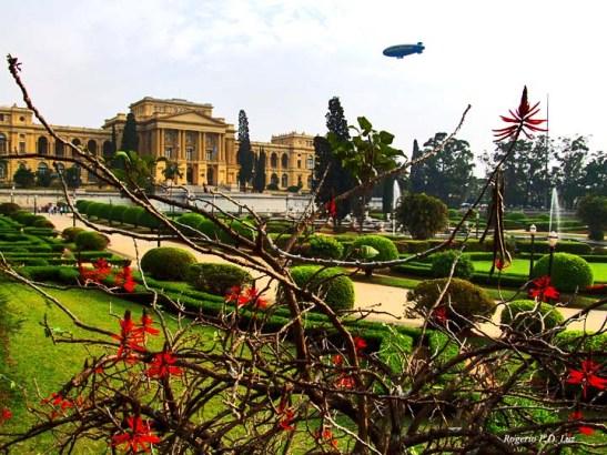 Museu Paulista, mais conhecido por Museu do Ipiranga, região onde foi declarada a independência do Brasil