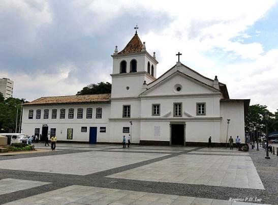 Pátio do Colégio, no centro histórico de São Paulo