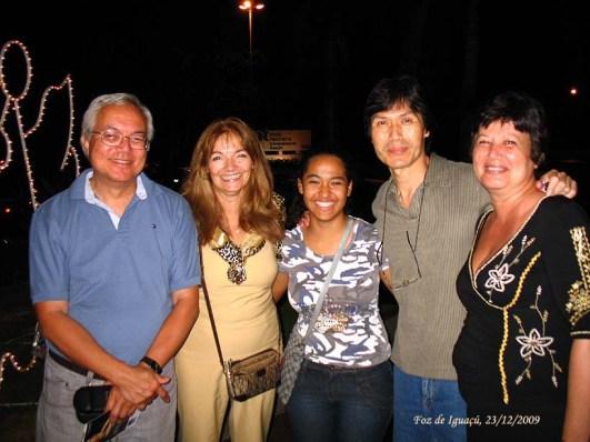 Esta foto foi o nosso primeiro encontro em Foz de Iguaçu em 2009