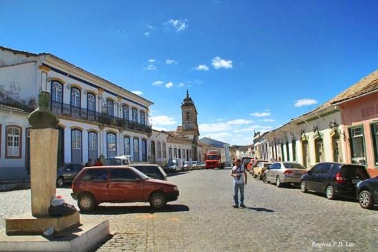 Centro Histórico na Rua Getúlio Vargas