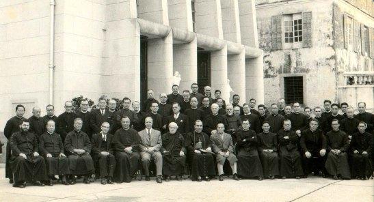 Corpo docente do Seminário de São José