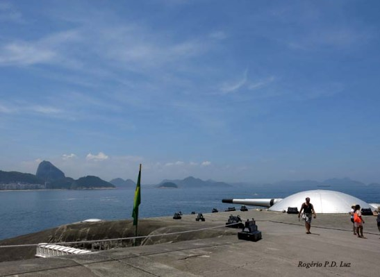 Forte de Copacabana. Foto: Rogério P.D. Luz