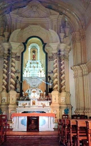 Altar da Igreja de São José nos anos 60