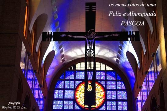Basílica de Aparecida crucifixo mensagem Páscoa