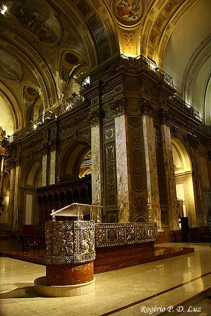 o altar principal