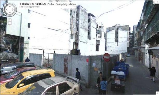 O local do Nan King, em terreno baldio que deve valer milhões...