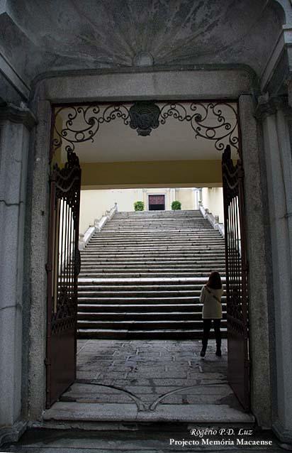 O portão de acesso