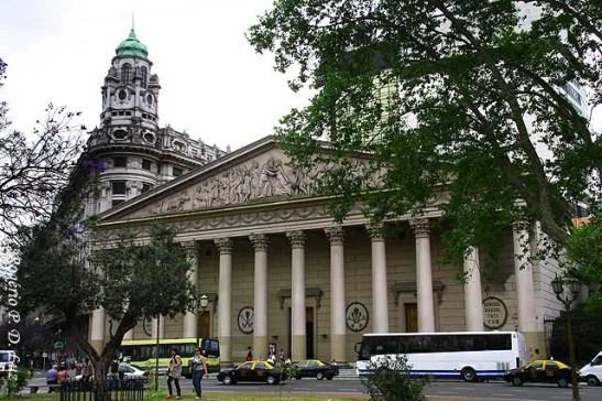 A Catedral de Buenos Airos, Argentina, onde o novo Papa Francisco era arcebispo