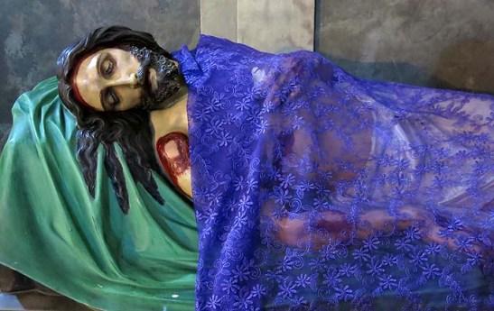 Cristo Morto da Igreja de São Francisco de Assis, em São Paulo