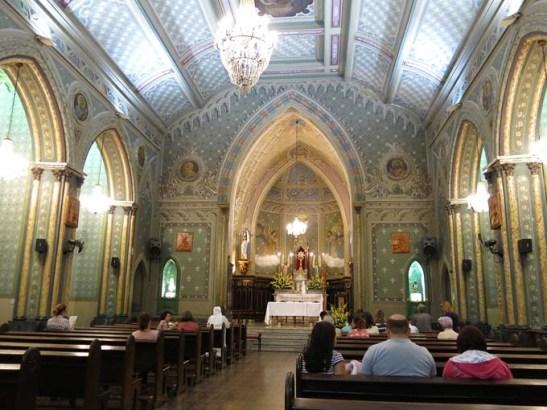 Igreja do Divino Espírito Santo, na Rua Frei Caneca, São Paulo
