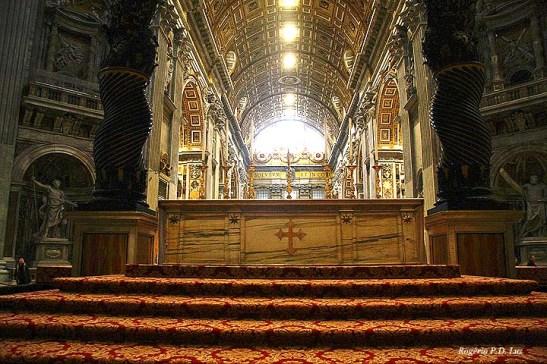 O altar do bandaquino