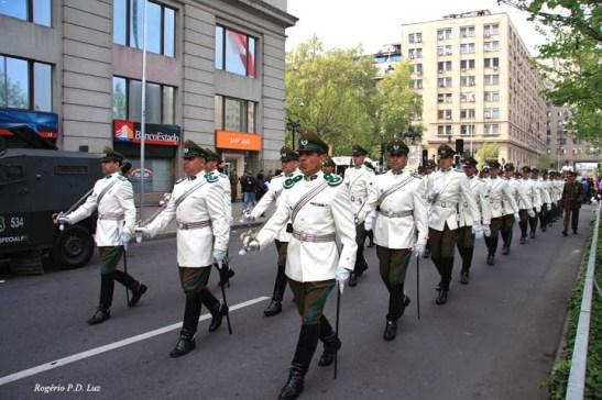 Chile Palacio La Moneda e troca Guarda (04)