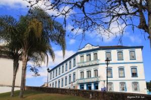 O hotel a lado do Santuário