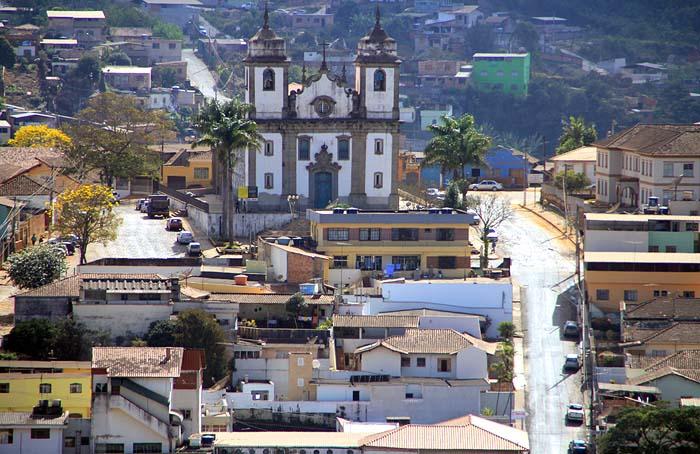 vita parcial da cidade de Congonhas, Minas Gerais