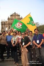 Membros da Casa de Macau de São Paulo no Encontro de 2010