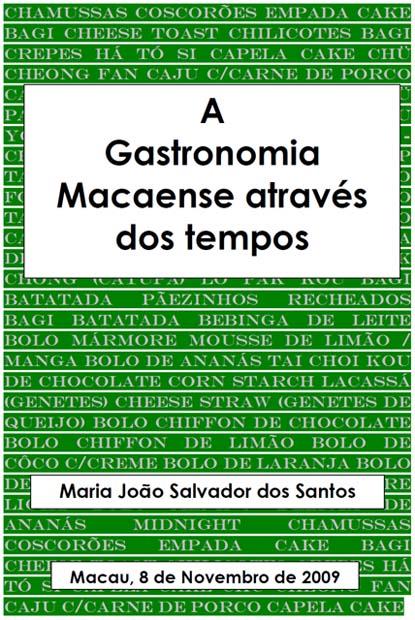 Gastronomia Macaense.Maria João Santos Ferreira (01)