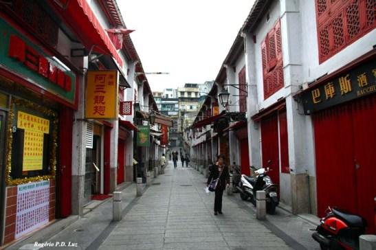 Rua da Felicidade em Dezembro de 2007