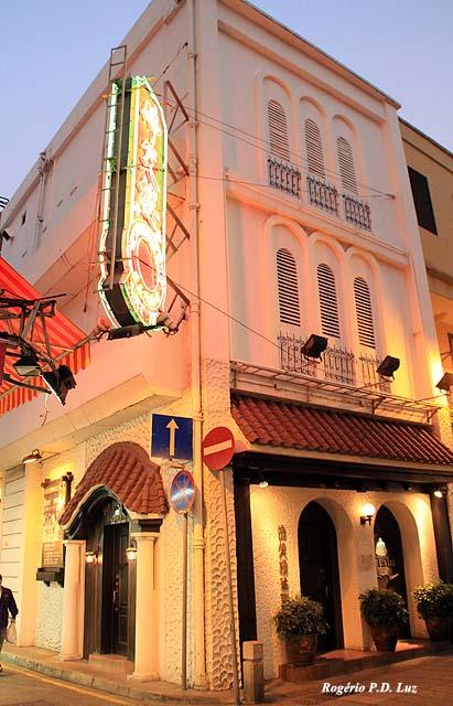Restaurante Fat Siu Lau que serve boa comida macaense e portuguesa