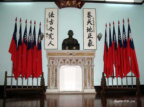 Sun Yat Seng, do museu/memorial em Macau