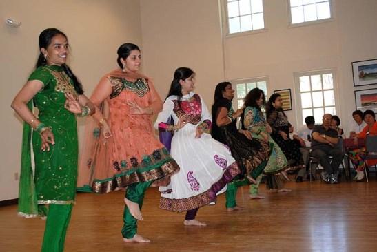 dançarinas indianas da Academia Nrityabhakti