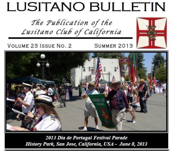 LUSITANO Bulletin Summer 2013