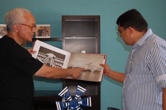 Apresentação do Álbum de Macau 1844-1974 (foto Pedro Lima)