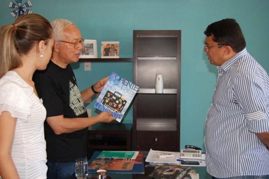 Apresentação do Instituto Internacional de Macau e transmissão da mensagem do seu presidente: Jorge Rangel