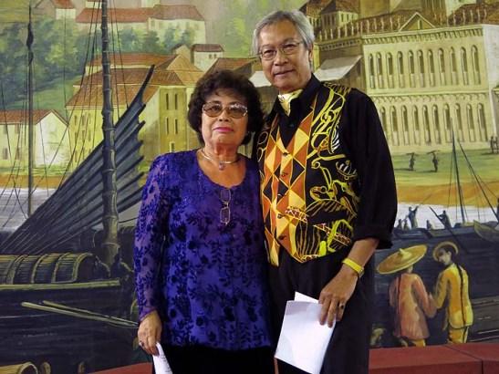 Pedro de Almeida colaborou com a Mariazinha Lopes Carvalho na apresentação em patuá de Macau