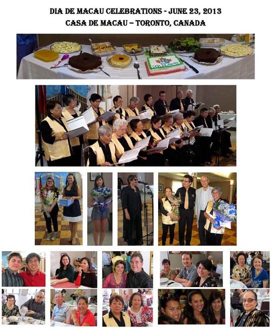 Casa de Macau Toronto boletim Julho 2013 fotos 1
