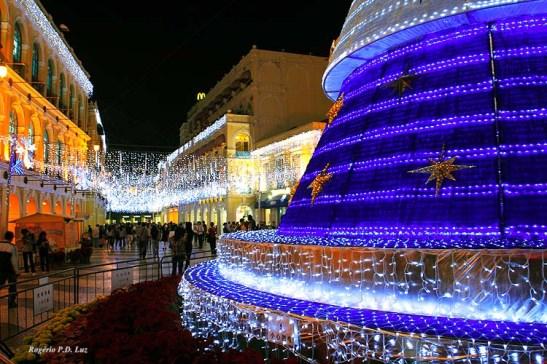 Largo do Senado, centro histórico de Macau