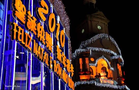 Retratos do Natal 2010 em Macau