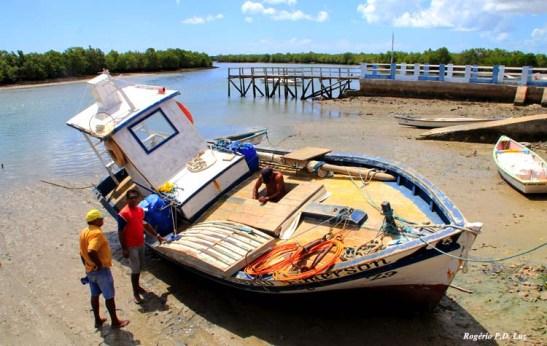Passa pela vila dos pescadores