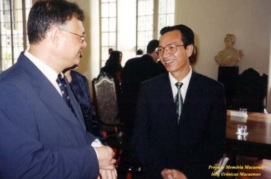 Sales Marques conversa com o cônsul da China em São Paulo: Li Chunhua