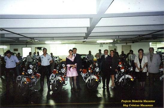 Os batedores da Polícia que acompanharam Sales Marques todo tempo da sua estada em São Paulo