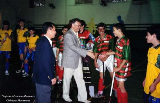 Foi apresentado por João Bosco da Silva à (antiga) equipe de hóquei da Casa
